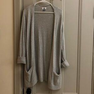Old Navy gray cardigan